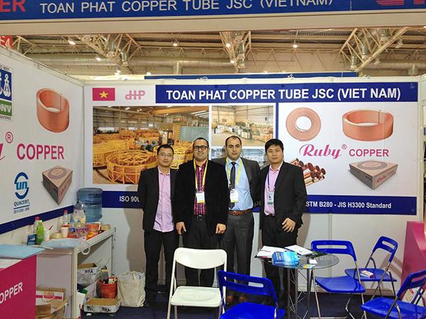 Ống đồng Ruby Copper tại triển lãm Bắc Kinh 1
